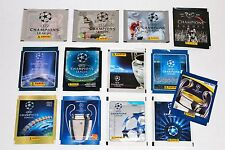 Panini SET 13 TÜTEN PACKETS SOBRES CHAMPIONS LEAGUE 99 00 01 02 bis 12 13 14 15