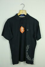VINTAGE FRED PERRY SPORT MENS POLO SHIRT RETRO CASUAL SMALL RARE INDIE MOD P44