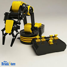 Robotic Arm Mechanical Robot Claw Clamp School Science Project Kit Kids Toy