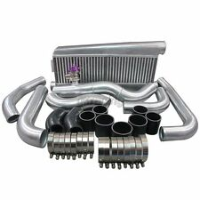 Bolt On Intercooler Kit For 79-93 Fox Body Ford  Mustang V8 5.0 Twin Turbo GT35