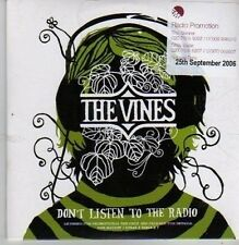 (BZ811) The Vines, Don't Listen To The Radio - 2006 DJ CD