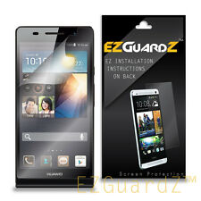5X EZguardz Clear Screen Protector Shield 5X For Huawei Ascend P6 P6-U06