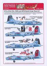 Kits World Decals 1/48 B-17G FLYING FORTRESS 91st & 100th Bomb Group
