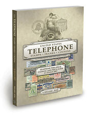 """NEW"" U.S. Stamp Catalog Telephone Philately Stamps Franks Book & Price Guide"