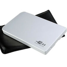 USB 2.0 2.5 inch Aluminum Super Slim IDE HDD Hard Drive Disk Enclosure Case hot
