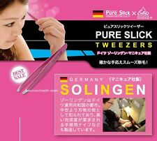 JAPAN/GERMANY PURE SLICK X SOLINGEN BODY HAIR REMOVAL TWEEZERS SKIN BEAUTY CARE