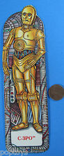 BOOKMARK - C-3PO - Matte Finish '83 vtg Star Wars
