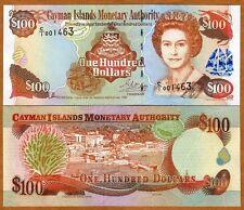 Cayman Islands $100, 1998, P-25, QEII, UNC
