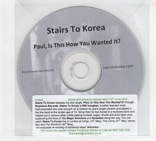 (GP675) Stairs To Korea, Paul, Is This How You Wanted It?  - 2010 DJ CD