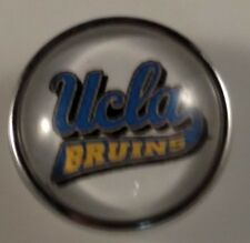 UCLA BRUINS Snap College Sports Button Chunk Jewelry Snaps 18mm University