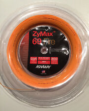 ASHAWAY ZYMAX 69 FIRE 200M COIL BADMINTON RACKET STRING ORANGE COLOUR