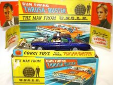 CORGI NO. 497 MAN FROM UNCLE OLDSMOBILE - MINT & BOXED - RARE!