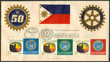 1969 Philippines 50 Years Of ROTARY INTERNATIONAL First Day Cover