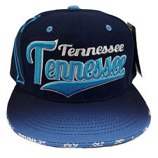 TENNESSEE EMBROIDERED FLAT FLASH Snapback Cap