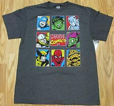 MARVEL COMICS T Shirt Size Large SPIDERMAN Green Goblin AVENGERS Captain America