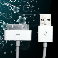 USB 2.0 Data Sync Charger Cable Cord For iPhone 3G/3GS/4/4S iPad 2 iPod Touch PS