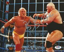 King Kong Bundy Signed WWE 8x10 Photo PSA/DNA COA Wrestlemania II vs Hulk Hogan