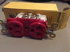 Hubbell 5362RDB Specification Grade Duplex Receptacle 2 Pole 3 Wire Grounding