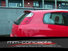 Dachspoiler für Fiat Grande Punto Spoiler Heckflügel Ansatz Dach GT Evo Abarth