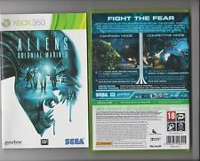 ALIENS COLONIAL MARINES XBOX 360 / X BOX 360