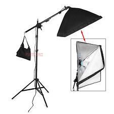 Profi 625W Fotostudio Set Softbox Studioleuchte Studiolampe Galgenstativ DHL※
