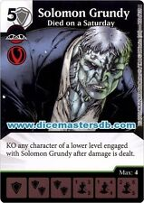 Solomon Grundy Died on a Saturday #100 - Justice League - DC Dice Masters