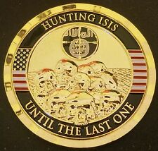 Challenge Coin Hunting ISIS Iraq