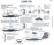Berna Decals 1/48 LOIRE 130 French Seaplane