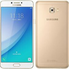 Deal 01: New Imported Samsung Galaxy C7 Pro Duos Dual 64GB 4GB 16MP 16MP Gold