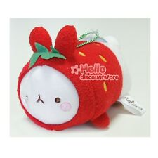 Molang Cute Rabbit Bunny Suction Plush : Strawberry