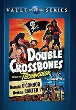 DOUBLE CROSSBONES  (1951 Donald O'Connor) - Region Free DVD - Sealed