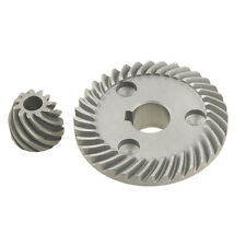2 Pcs Replacement Spiral Bevel Gear for Makita 9553 Angle Grinder L6