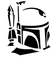 Vinyl Decal Sticker Truck Car Laptop Window - Star Wars Boba Fett