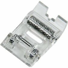 Brother Sewing Machine Snap-On Clear Roller Foot for Many Models