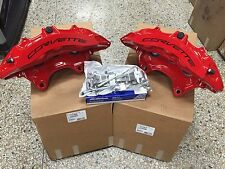 GM OEM 2015-16 Chevy Corvette Z06 Front Red Brembo 6 Piston Calipers