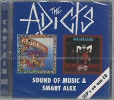 THE ADICTS - SOUND OF MUSIC & SMART ALEX - (still sealed cd) - AHOY CD 88