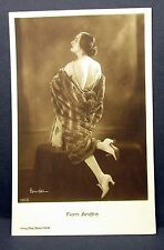 Fern Andra-   Actor Movie Photo - Film Autogramm-Karte AK (Lot-Z-680)