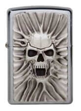 "ZIPPO ""SKULL SCREAM OF SAND"" 3D TRICK LIGHTER / 1300120 ** NEW IN BOX **"