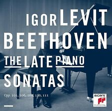 IGOR LEVIT - BEETHOVEN: THE LATE PIANO SONATAS 2 CD KLASSIK/SOLOINSTRUMENT NEU