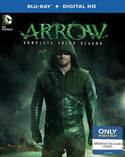 NEW!! Arrow: The Complete Third Season (Blu-ray Disc, Only Best Buy)