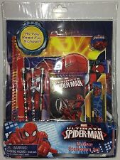 MARVEL ULTIMATE SPIDER-MAN 11 Piece Stationery Set - Licensed Product for KIDS