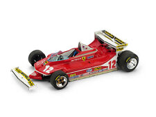 Ferrari 312 T4 G. Villeneuve 1979 #12 Retired Monaco GP 1:43 Model BRUMM