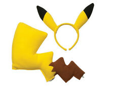 Specific Cosplay Cute Pokémon Pikachu Ears and Tail Dress Up Kit Christmas Gift
