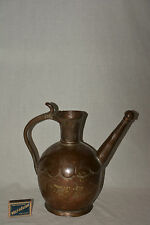Antike Kanne Krug Kupfer Topf Vase Pot Jug Can Copper