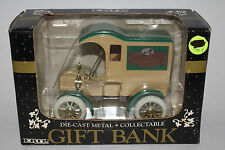Ertl Gift Bank; 1905 Ford Truck Die Cast Metal; Father's Day 1991
