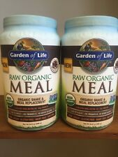 Lot of (2) Garden of Life Raw Meal Chocolate 34.8 oz (986g)NOT on RECALL LIST