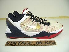 Nike Zoom Kobe VII 7 System Gold Medal Olympic sz 8 bhm masterpiece prelude
