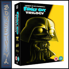 FAMILY GUY - STAR WARS TRILOGY - LAUGH IT UP FUZZBALL  **BRAND NEW DVD BOXSET**