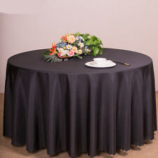 Round Table Cover Table Cloth Home Tablecloth Hotel Restaurant Wedding Banquet