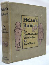 1899 Helen's Babies by John Habberton - Illustrated by Eva Roos - Decorative HB